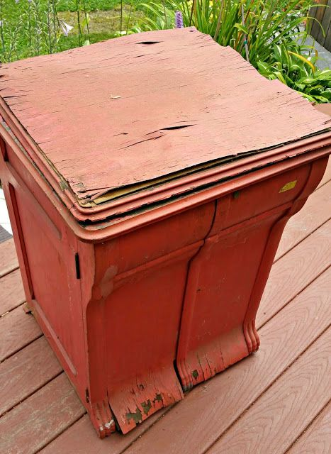 Redo It Yourself Inspirations : Antique Record Player Cabinet Redo