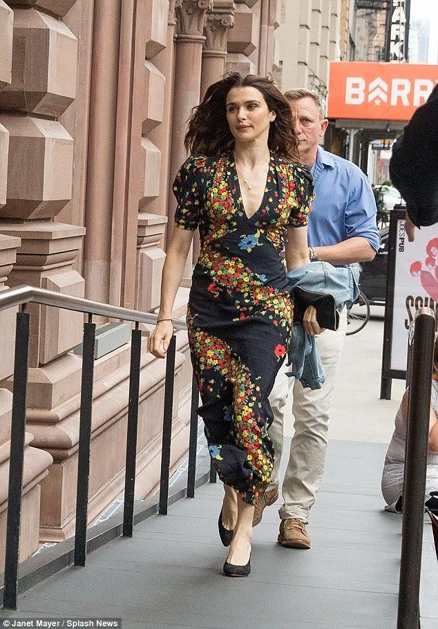 Turning heads: Rachel Weisz proved her timeless star factor as she arrived at the opening ...
