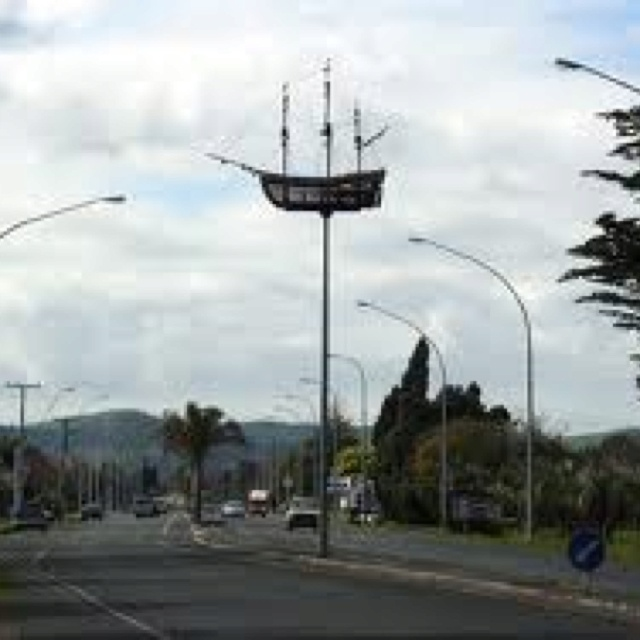 Gisborne, New Zealand town decor
