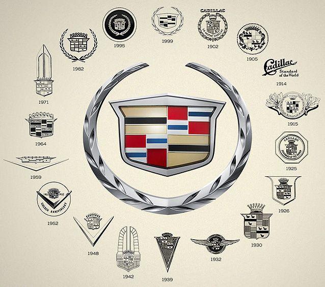 Cadillac Logo History Low Lows Pinte