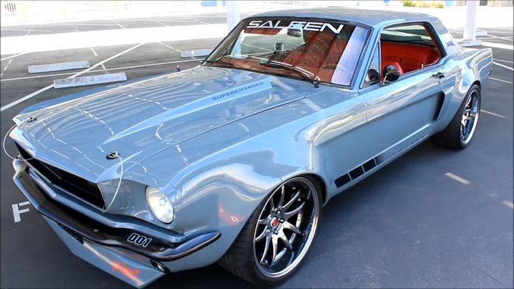 1965 Mustang Saleen Coupe Restomod! Check out Facebook and Instagram: @metalroadstudio Very cool! #mustangvintagecars