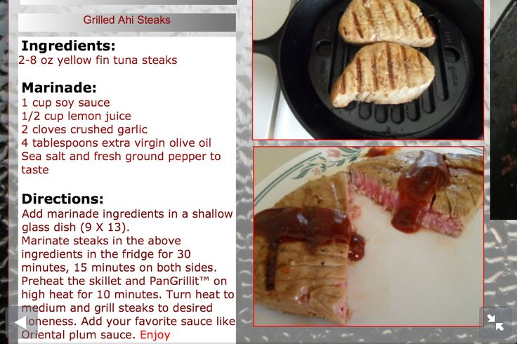 how to cook ahi tuna in a cast iron skillet