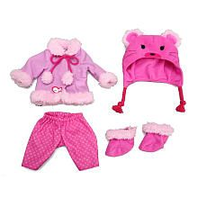 Baby Alive One Size Fits All Outfit - Bear Coat