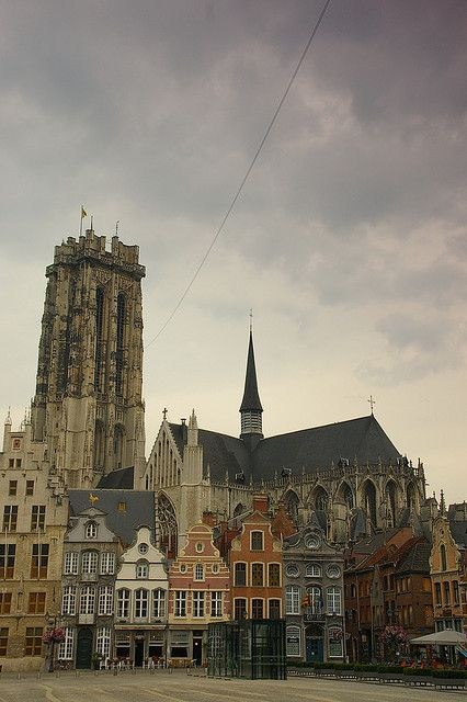 Cathedral of Mechelen, Belgium My grandfather was the one who put electricity in the church!