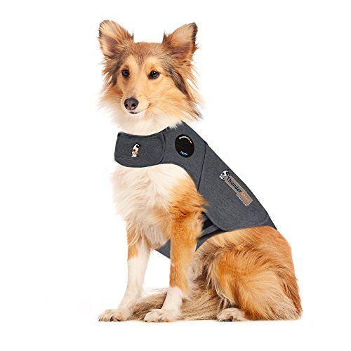 ThunderShirt Dog Anxiety Jacket, Heather Gray, Large Thun...