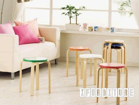 IKAR Bend Wood Stool , Dining Room, NZ's Largest Furniture Range with Guaranteed Lowest Prices: Bedroom Furniture, Sofa, Couch, Lounge suite, Dining Table and Chairs, Office, Commercial & Hospitality Furniturte