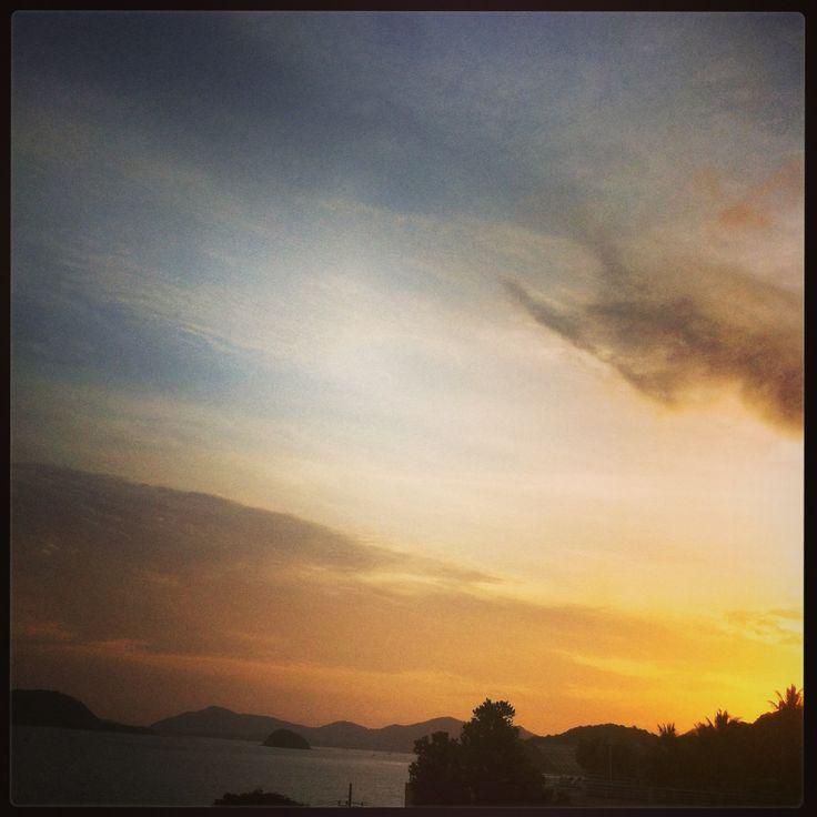 #sunset #thailand