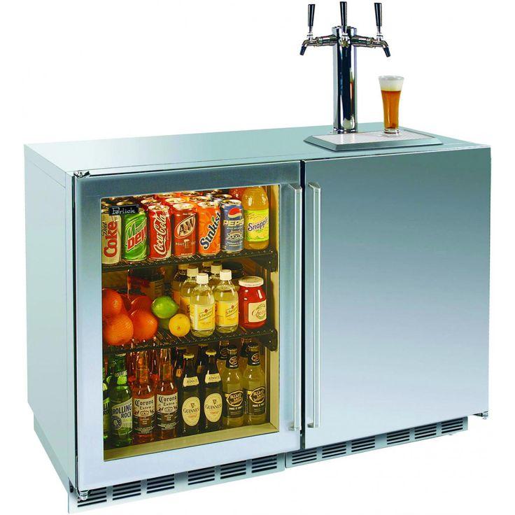 Perlick 12.0 Cu. Ft. Outdoor Refrigerator / Triple Tap