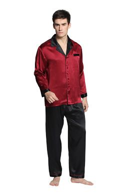 High-End Silk Pajamas for Men and Women