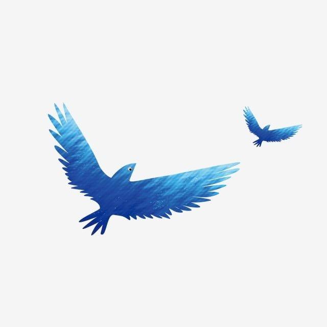 Blue Bird Flying Bird Cartoon Blue Vector And Png Birds Flying Flying Bird Drawing Flying Bird Silhouette