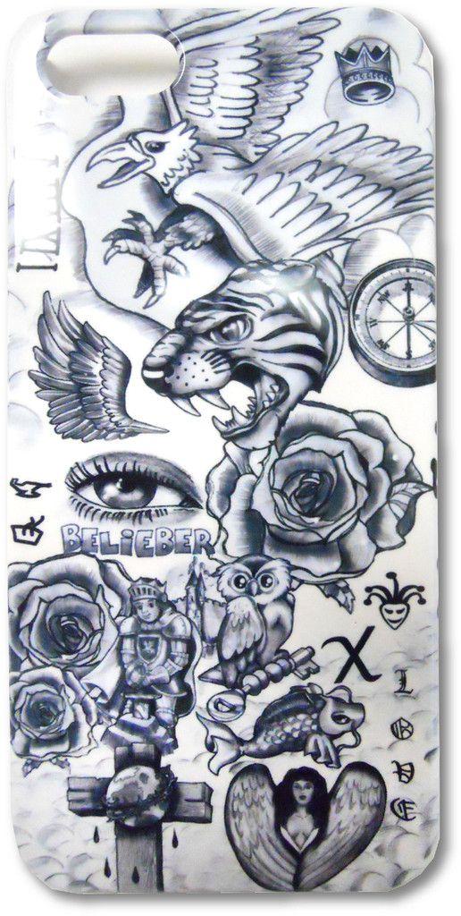 justin bieber tattoo iphone case