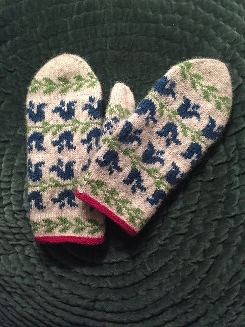253 best fair isle mittens images on Pinterest | Knit mittens ...
