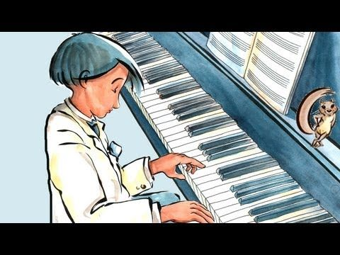"The Little Pianist: Learn Spanish with subtitles - Story for Children ""BookBox.com""  A Azul le encanta tocar el piano y no quiere ser un buen sino un gran pianista. Entérate como aprende el secreto."