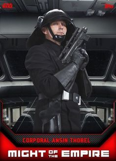 Topps Star Wars Card Trader Corporal Ansin Thobel Might Of The Empire Series
