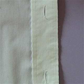 Coupe Couture : Bande de boutonnage de chemisier