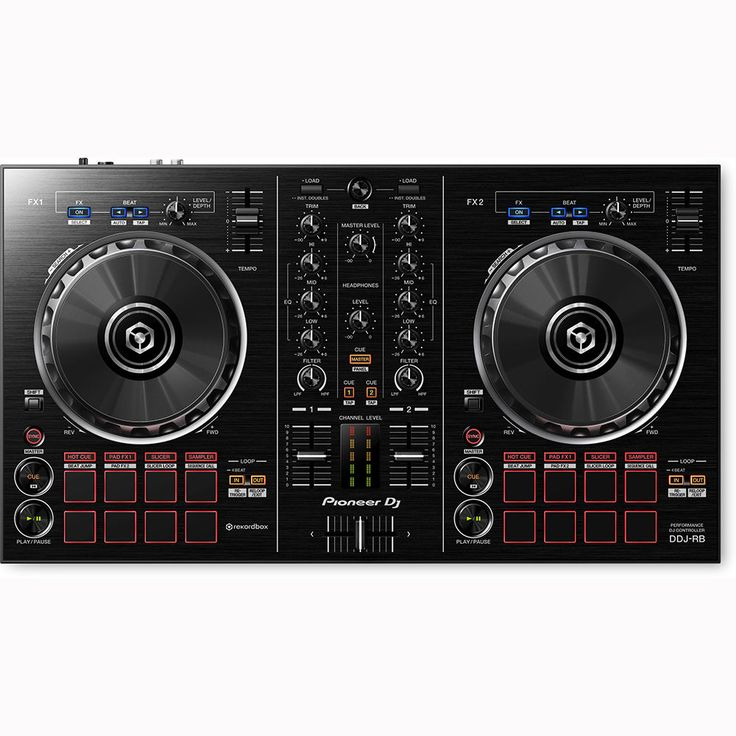 Pioneer DDJ-RB Portable 2-Channel Rekordbox DJ Controller