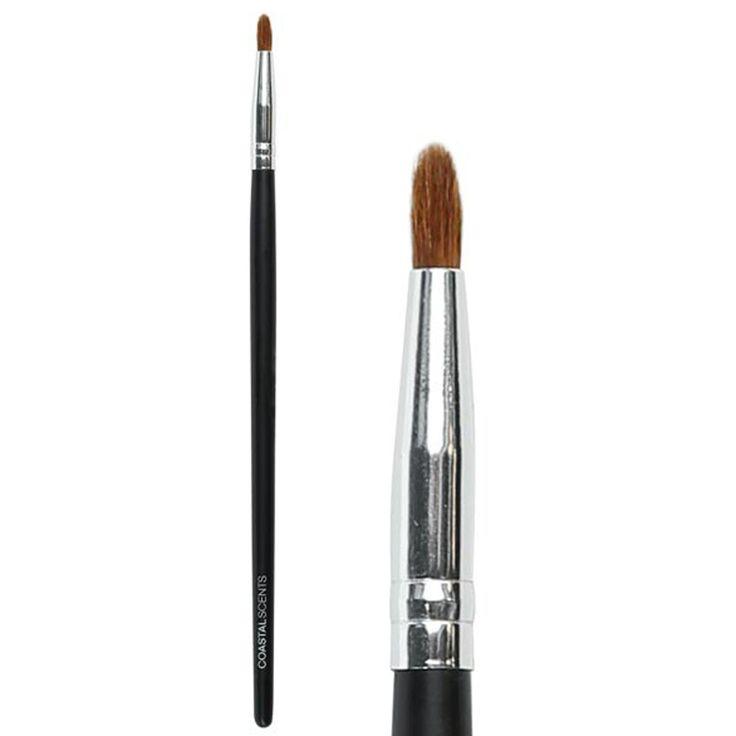 Classic Precision Pencil Brush Small Natural   Coastal Scents • Coastal Scents