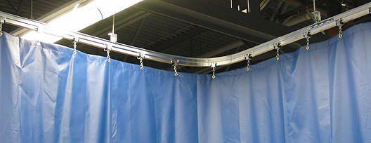Manufacturier de produits de toile sur mesures; protection d'équipement, rideaux coupe froid, rideaux de soudeur, rideaux de lattes, rideaux séparateurs, sacs
