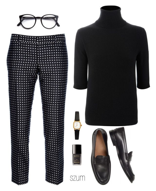 """243"" by szum ❤ liked on Polyvore featuring Dsquared2, Allude, STELLA McCARTNEY, American Apparel and Chanel"