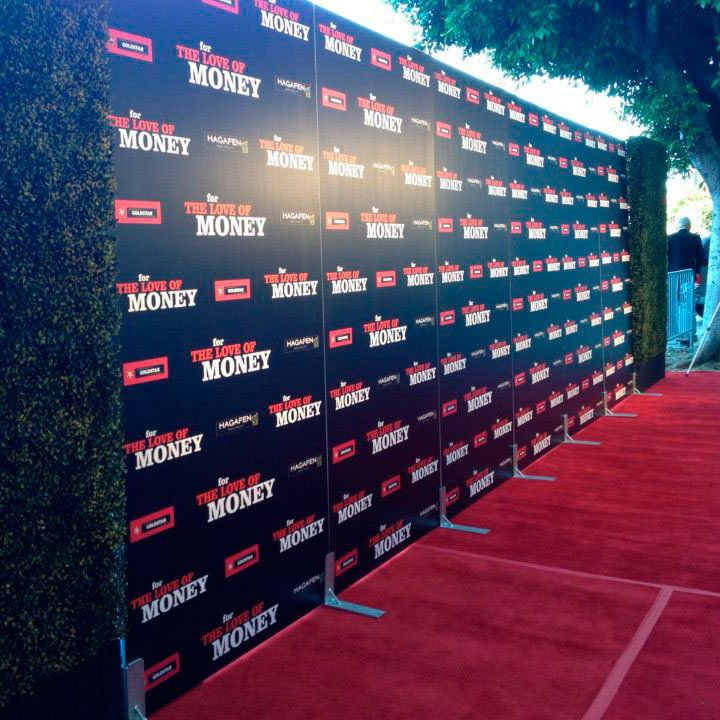 8x24 Step and Repeat Backdrop | Custom Banner Printing by Red Carpet Systems. For more information about step and repeat banners, go to http://www.redcarpetsystems.com/products-services/step-and-repeat-red-carpet-backdrop/