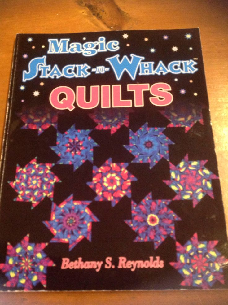 A personal favorite from my Etsy shop https://www.etsy.com/listing/597706185/magic-stack-n-whack-quilts-book