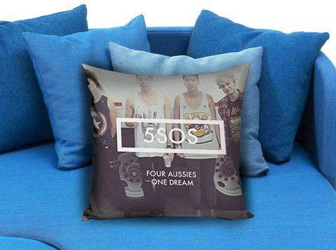 5 Seconds of Summer One Dream Pillow Case #pillow #case #pillowcase #custompillow #custom