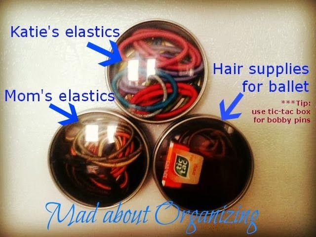 Organizing elastics and bobby-pins    madaboutorganizing.blogspot.ca