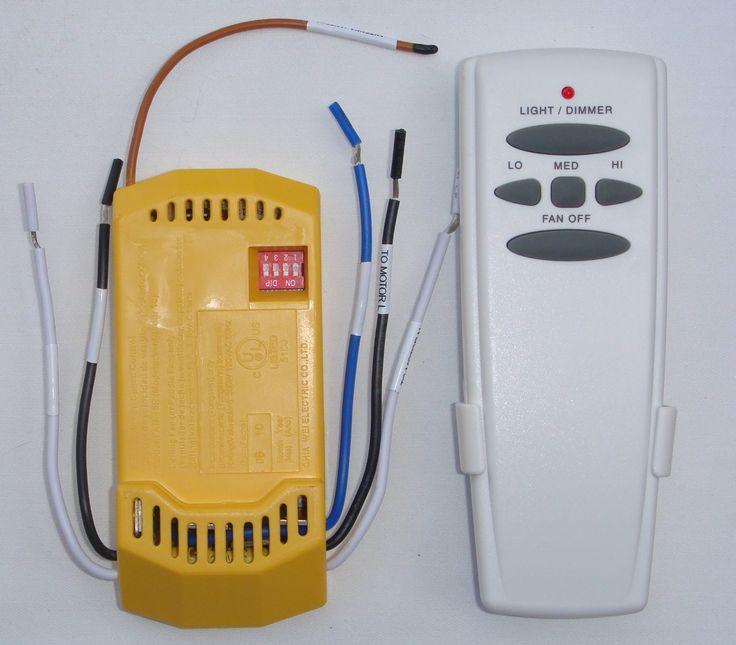 Universal Ceiling Fan Remote Control Kit - - Amazon.com