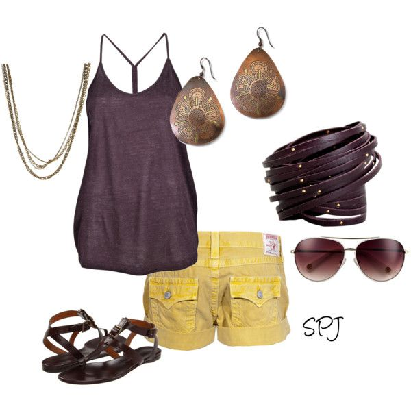 love this outfit: Beautiful Summer, Bszjack, Color Combos, Kate, Clothing Summer, Cute Summer Outfits, Summer Fun, Polyvore, Summer Clothing