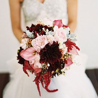 This bouquet has a lot of pretty and interesting texture!