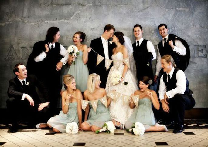 Strike a Pose | Bridal Party Poses