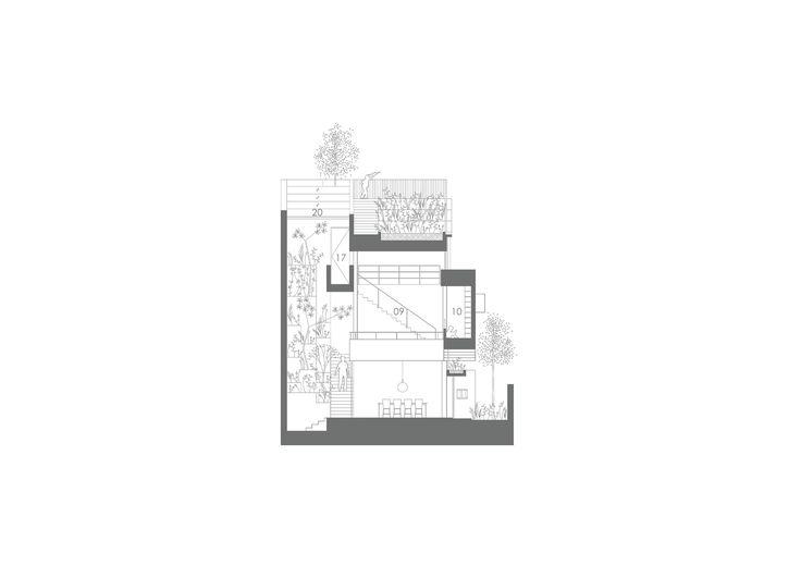 Gallery - Terrace House / Formwerkz Architects - 14
