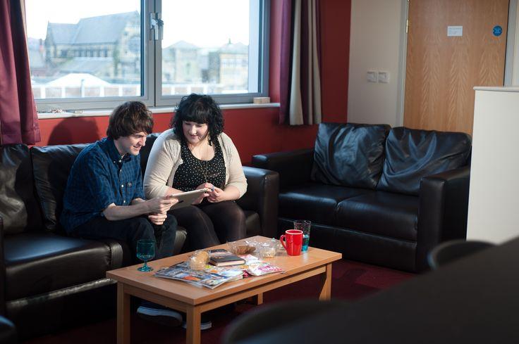 Winn Studios Communal Living Space