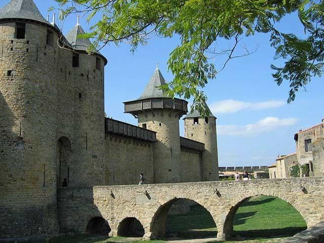 Le château comtal de la cité de Carcassonne|