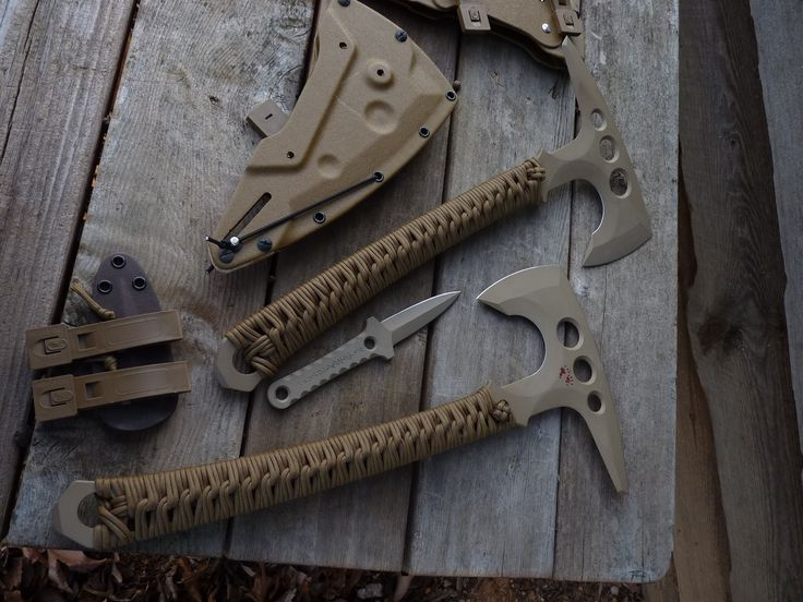 Omnivore Blade-Works Scout Recon Tomahawk.