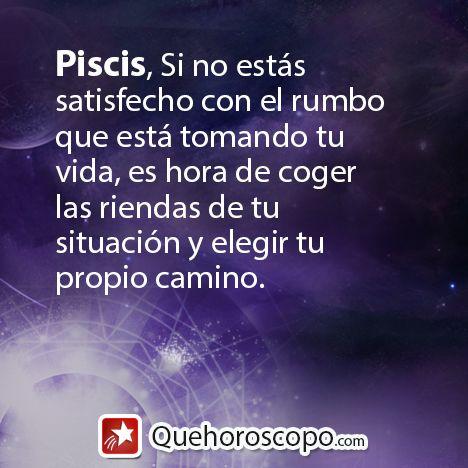 #Horoscopo #Piscis #Amor #Trabajo #Astros #Predicciones #Futuro #Horoscope #Astrology #Love #Jobs #Astrology #Future http://www.quehoroscopo.com/horoscopodehoy/piscis.html?utm_source=facebooklink&utm_campaign=semanal&utm_medium=facebook