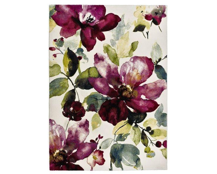 NUEVA ALFOMBRA COLORS 21854 Alfombra de diseño moderno floral con colorido variado tejida a máquina en Turquía con fibras sintéticas de calidad. Medidas disponibles: 60×120, 120×170, 140×200, 160×230 Para ver esta o más alfombras visita nuestra tienda on-line: alfombrasnelo.com