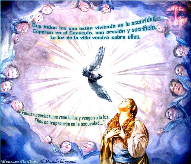 Mensajes De Dios Al Mundo: DOMINGO 24 DE MAYO DEL 2015: PENTECOSTÉS: VENIDA D...