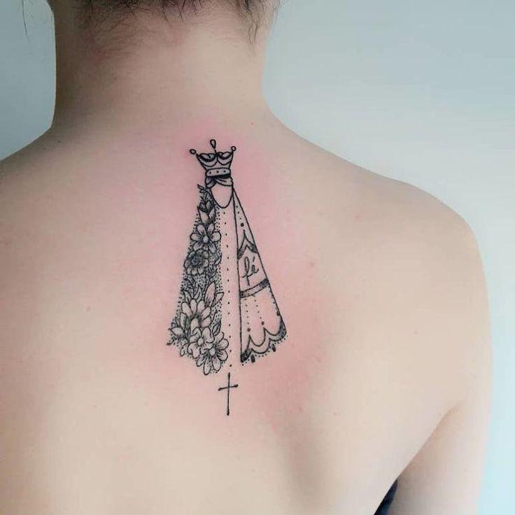 65 fotos de tatuagem de Nossa Senhora que vão te inspirar | Tatuagem, Tatuagem de santo, Tatuagem de oxum