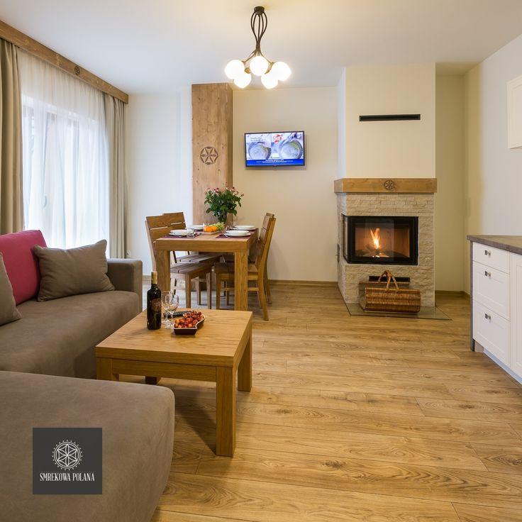 Apartament Storczyk - zapraszamy! #poland #polska #malopolska #zakopane #resort #apartamenty #apartamentos #noclegi #livingroom #salon #fireplace