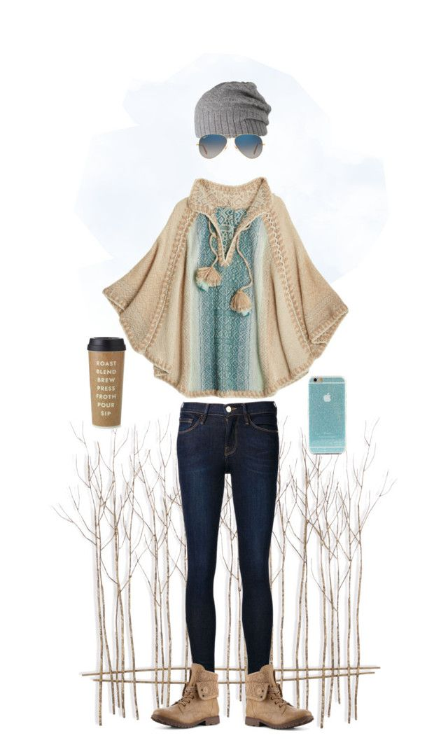 """""""#11  Simplicity"""" by alzbeta-zlochova ❤ liked on Polyvore featuring Frame Denim, Calypso St. Barth, Barts, Ray-Ban and Kate Spade"""