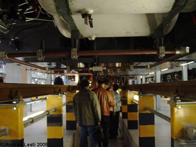 Osteria del Curato - Il deposito officina della Metro A di Roma