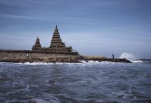 The submerged Temples of Mahabalipuram