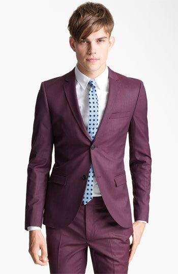 Topman 'Liquid' Skinny Blazer | Nordstrom: Light Pink Blazers, Blazers 280 00, Men'S S, Men Fashion, Men'S Fashion, Trim Blazers, Topman Liquid, Ultra Skinny Blazers, Blazers 28000