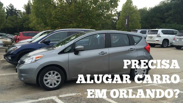 Precisa alugar carro em Orlando?