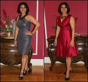 Women's clothing styles tend to be different and happy with individual preferences than ever. No longer does a narrow number of top designers dictate tips on how to dress. http://www.fabulousafter40.com/what-i-wore-holiday-party-dresses-for-women-over-40/party-dresses-for-women-over-40/