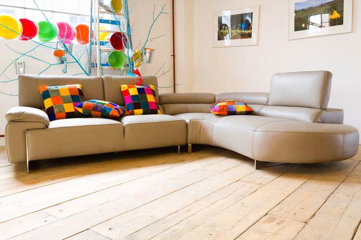 Lorenza Corner Sofa | Leather Sofa | Ireland