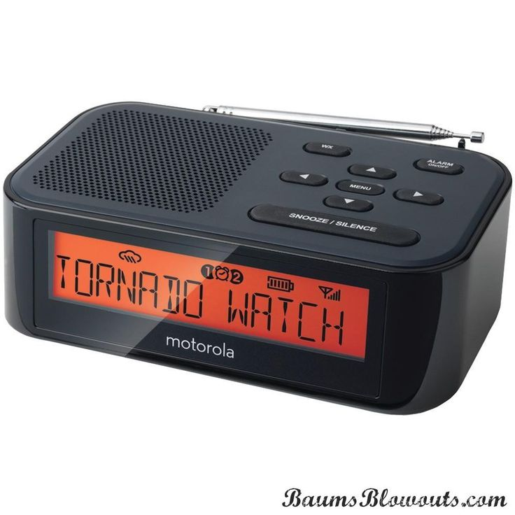 Motorola Desktop Weather Radio