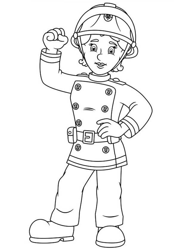 Fireman Sam Coloring Pages Best Coloring Pages For Kids Fireman Sam Fireman Cartoon Coloring Pages