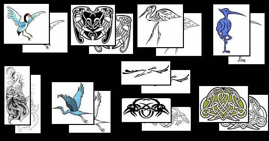 Get your Heron tattoo design ideas here!